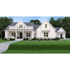 Cottage Style House Plans, Beach Cottage Style, Dream House Plans, Dream Houses, Cottage House, Farm Houses, New House Plans, Beach Houses, House 2