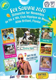 Club Hippique de Maurice - Anou Ale Fête Souval 2020. Tel: 698 9111
