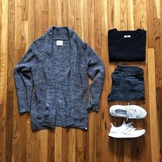 Outfit grid - Marl cardigan