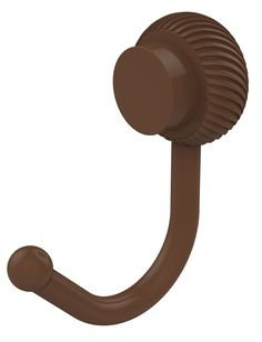 Venus Wall Mounted Utility Hook with Twist Detail