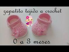 zapatitos tejidos a crochet -bebe-modelo yara- - Смотреть видео бесплатно онлайн Crochet Baby Blanket Beginner, Quick Crochet, Crochet For Boys, Cute Crochet, Baby Knitting, Boy Crochet, Baby Shoes Pattern, Crochet Baby Boots Pattern, Easy Crochet Projects