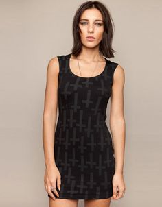 Crossed Dress, Drop Dead Clothing