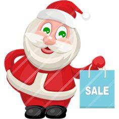 Santa Claus sale