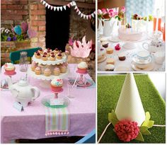 Great website for Girl themed parties (lots of ideas!)