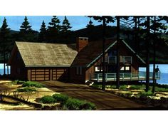 2 story, 1719 square foot, ready-to-build house plan from BuilderHousePlans.com