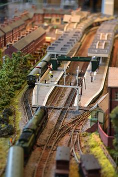 With N scale you can fit much more into a smaller space - Photo courtesy of Flickr