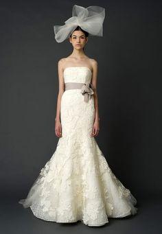 Vera Wang #wedding #dresses