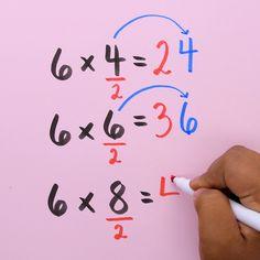 smart with these 10 math tricks! Are you a math whiz? Try out these cool math hacks!Are you a math whiz? Try out these cool math hacks! Math Worksheets, Math Resources, Math Activities, Kindergarten Math Games, Math For Kids, Fun Math, Math Math, Math Vocabulary, Maths Algebra