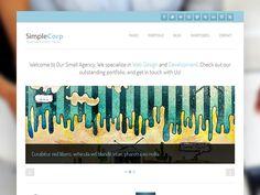 SimpleCorp Free Wordpress Theme