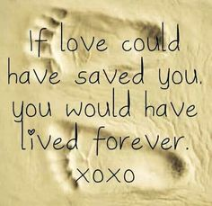If love could have saved you