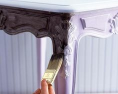 A table is given a new lease of life with a coat of Dulux paint. - How to paint furniture Refurbished Furniture, Paint Furniture, Furniture Decor, Dulux Paint, Inca, Learn To Paint, Home Staging, Decorating Tips, Decorative Items