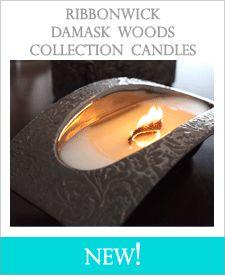 RibbonWick Candles from WoodWick Candles...just bought one at Cracker Barrel but have not tried it yet!