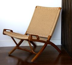 The exquisite, not so cheap Danish folding chair