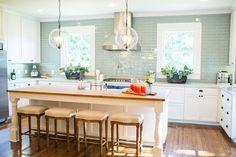 custom kitchen & island