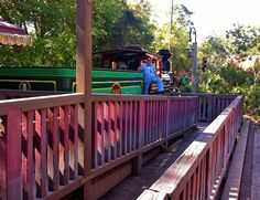 While visiting Disney World, remember you can always take the Walt Disney World Railroad around the park if you're not up for any more walking.