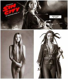 Devon Aoki as Miho: Sin City Movie Figure