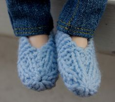 MSD slippers by wovenflame, via Flickr