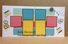 Snips, Snaps, and Scraps: National Stamping Month Blog Hop