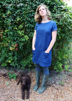 Pattern Review. Camber Dress by Merchant and Mills. Alterations-Pockets, shortened, hem // Behind the Hedgerow