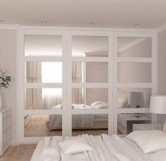 Vetro – framed mirrored sliding doors wardrobes range