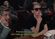 Breakfast at Tiffany's Quotes TV Shows Movies words frases palabras peliculas series television. Tv Quotes, Mood Quotes, Drunk Quotes, Qoutes, Cinema Quotes, Indie Quotes, Daily Quotes, Quotations, Michel Delpech