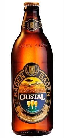 Cerveja Baden Baden Cristal, estilo Standard American Lager, produzida por Baden Baden, Brasil. 5% ABV de álcool.