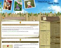 Wooden Fence WordPress Theme