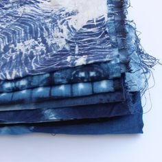 Shibori table cloth, Blue Linen tablecloth, custom size, dining table linens, kitchen and out doors tablecloth, shibori indigo.