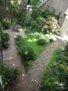 Jardin d'un atelier d'artiste | Philippe Dubreuil
