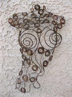 Metal Wall art sculpture abstract torso by Holly Lentz metal torso funky Metal Art Sculpture, Wall Sculptures, Abstract Sculpture, Metal Walls, Metal Wall Art, Wood Wall, Painting Shower, Mannequin Art, Welding Art