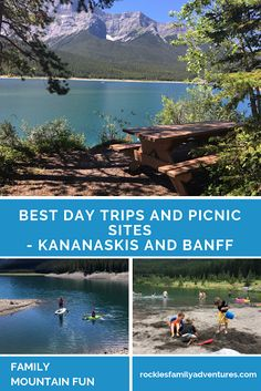 Find a new favourite day use area or picnic spot in Kananaskis or Banff this summer! Canadian Travel, Canadian Rockies, Vacation Places, Vacation Destinations, Get Outdoors, The Great Outdoors, Alberta Travel, Picnic Spot, Visit Canada