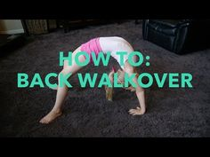 5 Steps to Get Your Back Walkover | Tumbling & Gymnastics Tips - YouTube