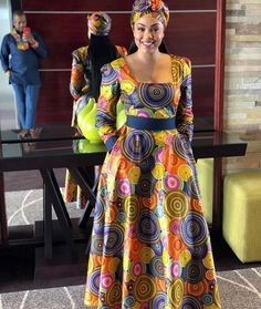 These are the most elegant ankara gown styles there are today, every lady who loves ankara gowns should see these ankara gown styles of 2019 African Fashion Ankara, African Inspired Fashion, Latest African Fashion Dresses, African Print Fashion, Africa Fashion, Long African Dresses, African Print Dresses, Ankara Dress Styles, Ankara Gowns
