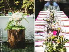 Bright and modern wedding details. An Everlasting Moment, San Francisco Bay Area Wedding Planner.
