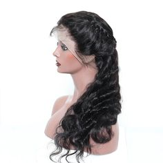 Pre Plucked Full Lace Human Hair Wigs With Baby Hair Peruvian Hair Body Weave 180 Density Bleached Knots Virgin Hair You May Hair Cheap Human Hair, Human Hair Lace Wigs, Modern Hairstyles, Permed Hairstyles, Different Types Of Curls, Body Wave Wig, Really Long Hair, Natural Hair Styles For Black Women, Peruvian Hair