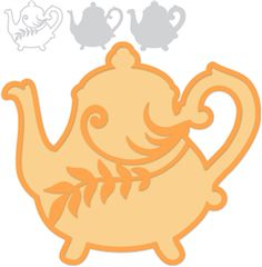 Cute Teapot Shape