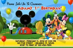 disney mickey mouse your invited | See the small card with the code on it? The seller printed that out ...