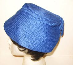 Vintage 1960's Madmen Bucket Toque Hat w/ Tassle Royal by Avaricia, $9.99