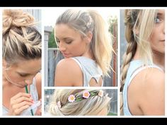 Heat-Proof Summer Hairstyles - YouTube