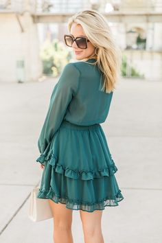 Dreams That I Want Evergreen Dress SALE Dress Sale, Dresses For Sale, Green Summer Dresses, Must Have Items, Pink Lily, Online Boutiques, Evergreen, Must Haves, Things I Want