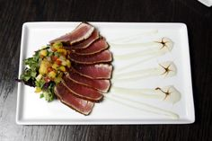ALASKA HOME | FOOD & DRINK | IN THE KITCHEN WITH... | RECIPE | SEARED AHI
