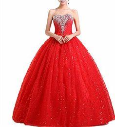 WT09 RED Evening Dresses party full Length Prom gown ball dress robe LondonProm, http://www.amazon.co.uk/dp/B00KHTNUY2/ref=cm_sw_r_pi_dp_5SgPtb1YYCSAG