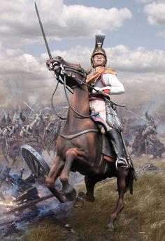 Штаб-офицер Лейб-Гвардии Конного полка. Русская армия при Бородино. РВ839, М1:30.