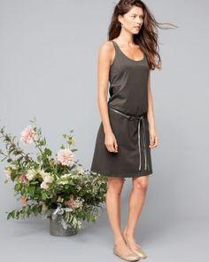 Eileen Fisher Organic Cotton A-Line Tank Dress