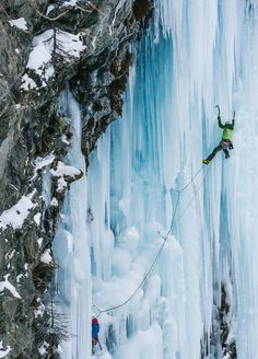 Beautiful but phenomenally difficult: read this account of ice climbing in the Dolomites.