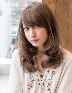 ゆるふわセミパーマ(AS-112)   ヘアカタログ・髪型・ヘアスタイル AFLOAT(アフロート)表参道・銀座・名古屋の美容室・美容院
