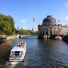 Bode Museum on the Spree, Berlin, Germany