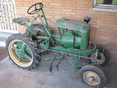 shaw tractor | Original Ad: Shaw Du-All R8 WLH tractor w/cult, restored in '91 ...