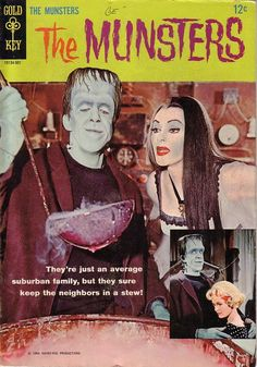 The Munsters comic.