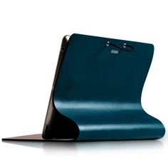 Evouni Leather Arc Cover for New iPad / iPad 3 New Ipad, Leather Cover, Floor Chair, Tech Accessories, Objects, Blue, Design, Home Decor, Tattoo